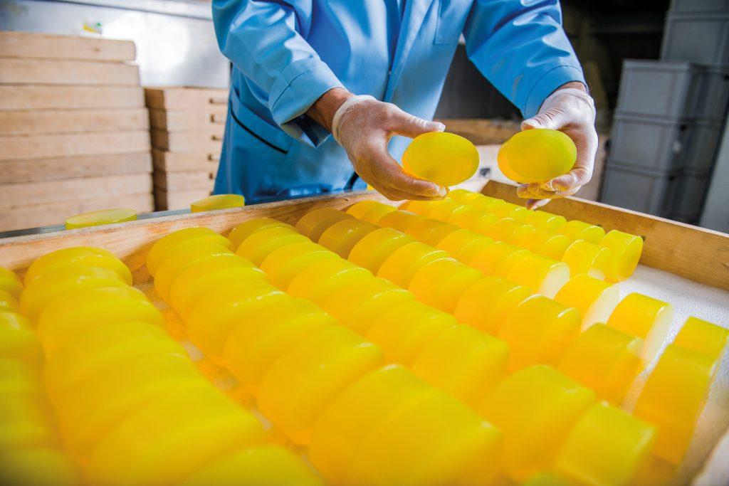 glycerin soap production